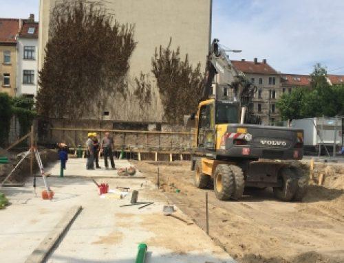 Neubau einer Kindertagesstätte, Wurzner Straße 24 in Leipzig