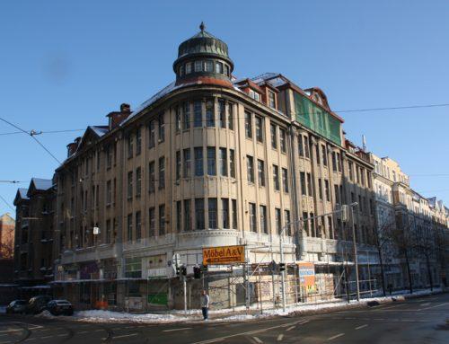 Sanierung Kaufhaus West in Leipzig Lindenau