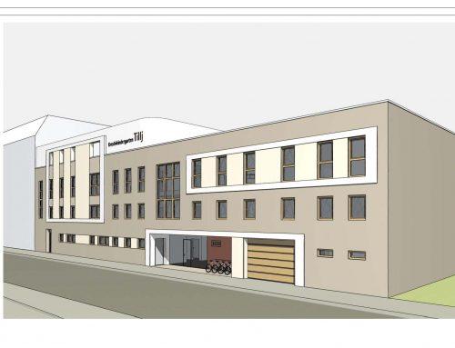 Neubau einer Kindertagestätte in der Lössniger Straße 22 in Leipzig