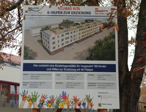 Neubau Kita und HzE in der Stöckelstraße 37 – 41