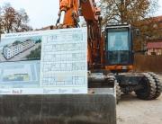 Baubeschreibung Kita Stöckelstraße auf Bagger
