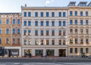 Vorderansicht Cityhaus Georg-Schumann-Straße 141